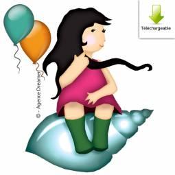 Invitation anniversaire gratuite au trésor des tout-petits