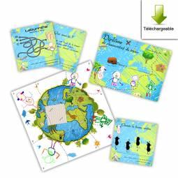Quelques exemples de cartes personnalisées